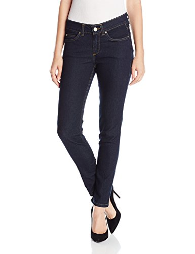 Rafaella Women's Petite Weekend Skinny Leg Slim Fit Jeans, Dark Indigo, 8