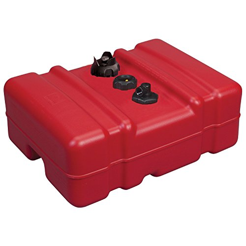 Moeller 630013LP Portable Fuel Tank, 12 - Gallon, Red