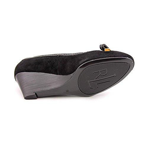 Lauren Ralph Lauren Women Bernee black Wedge Shoes 6.5 B US