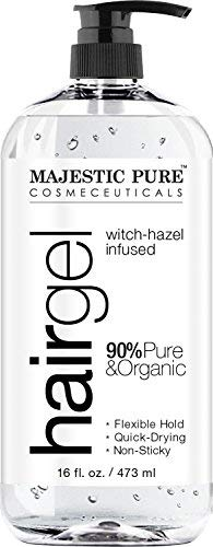 (Hair Gel for Men & Woman - Styling with Organic Aloe Vera & Witch Hazel - 16 fl)