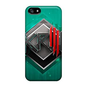 Excellent Hard Phone Cases For Iphone 5/5s With Support Your Personal Customized Stylish Skrillex Skin DannyLCHEUNG