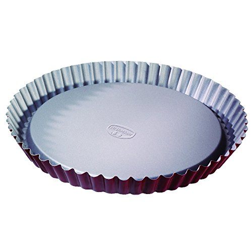 Dr.Oetker''Back-Liebe'' Pie Pan, O11.02'', Red-Silver by Dr. Oetker