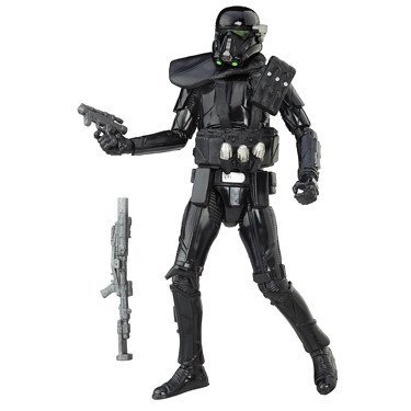 Star Wars: Rogue One, The Black Series Imperial Death Trooper Exclusive Action Figure, 3 .75 Inches ()