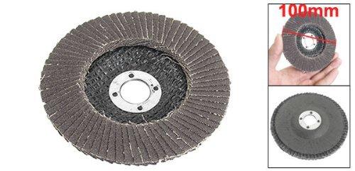 De metal pulido # 120 de 100 mm Dia de la aleta de lija abrasivos discos Ruedas