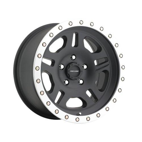 Pro Comp Alloys Series 29 La Paz Satin Black Wheel with Machined Lip (16x8''/6x139.7mm) by Pro Comp Alloys