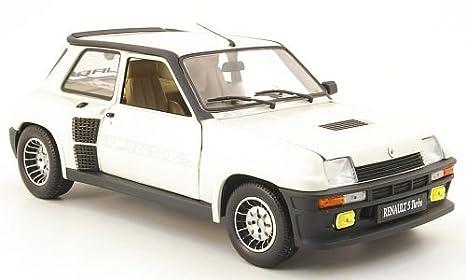 Renault 5 Turbo 2, blanco , Modelo de Auto, modello completo, UH 1:18: Amazon.es: Juguetes y juegos
