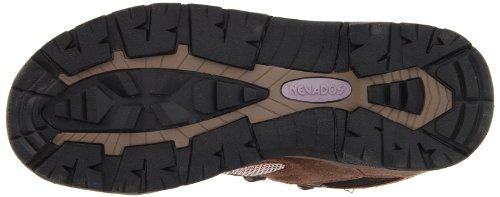 Waterproof donna scuro Scarpe nero taupe marrone Mid marrone Nevados da escursione Klondike 4xHxS0q