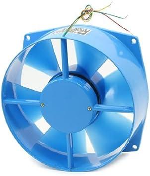 DealMux 200FZY7-D Ventilador de Ventilador axial con Marco de Metal AC 380V 50 / 60Hz 65W 230 CFM: Amazon.es: Electrónica