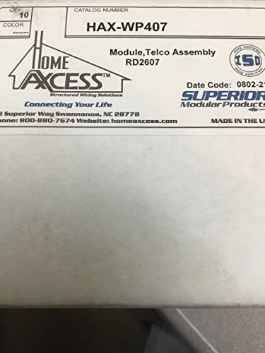Telco Module - SMP HAX-WP407 Module, Telco Assembly Package of 10