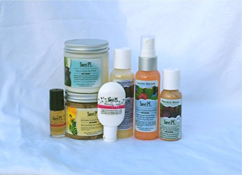 Prickly Pear Honey - Sweet P's Luxury Organic Skincare Prickly Pear Anti-Aging Gift Set
