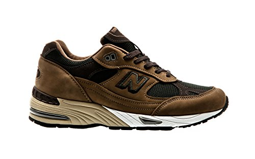 Sneakers NEW BALANCE nabuk marrone, nuova collezione autunno inverno 2017/2018 Aef Mushroom