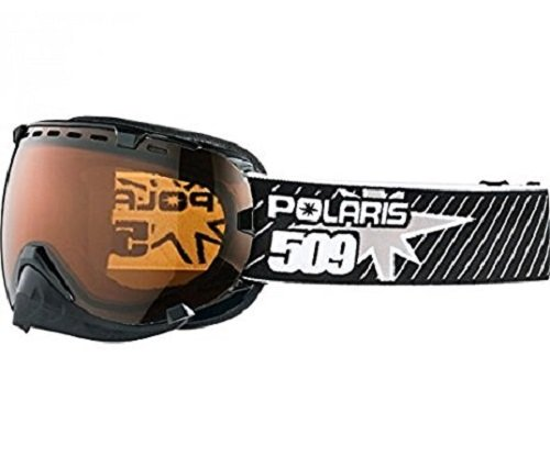 509 Polaris Aviator Goggle / Black / Gold Lenses / One Size Fits Most