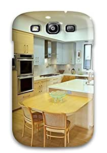 HBzMPkD15185NKNsm Case Cover Modern Kitchen With Oak Cabinets And Flooring Galaxy S3 Protective Case by mcsharks