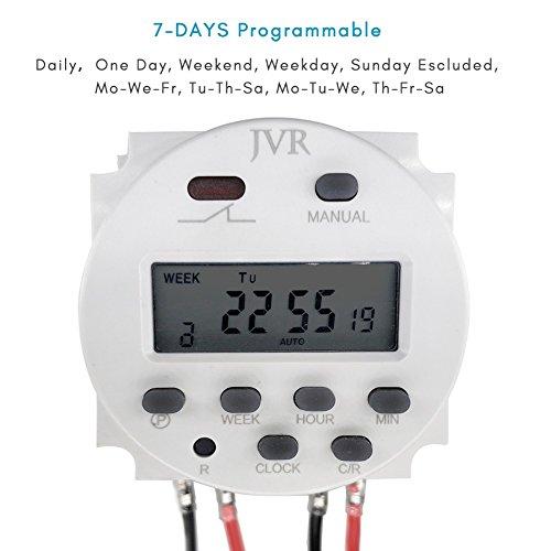 Jvr 12v Timer Switch For Solar Lights Chicken Coop Door
