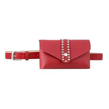 MWOBEP Casual Color sólido Bolsas de Cintura Niñas Pequeñas ...