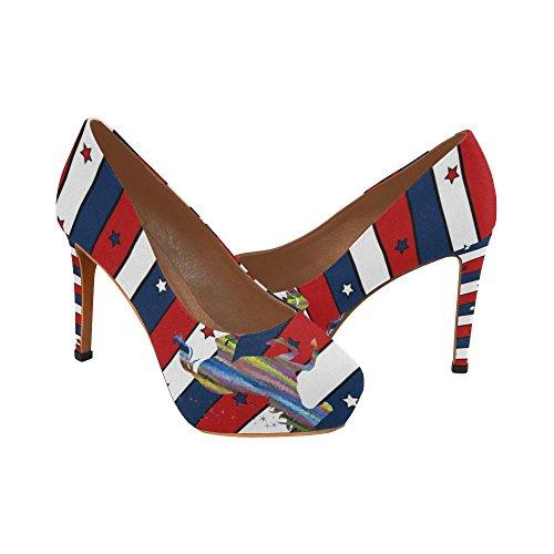 Scarpe Da Donna Sexy Con I Tacchi Alti, Scarpe Unicorno E Bandiera