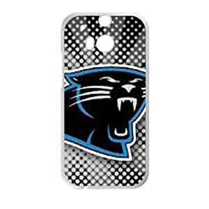 DAZHAHUI Carolina Panthers Cell Phone Case for HTC One M8