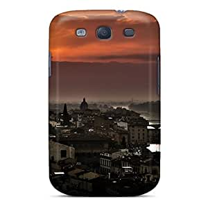 Perfect Fit Hnj3906pixY Florence Sunset Case For Galaxy - S3