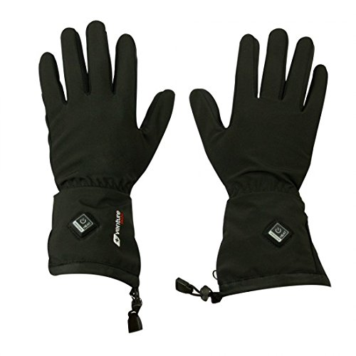 VentureHeat Avert Unisex-Adult 7.4V Battery Heated Glove Liner (Black, - Glove Battery Liners Heated