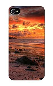 Defender Case With Nice Appearance (firey Dusk Sky) Case For Sam Sung Galaxy S4 Mini Cover / Gift For New Year's Day