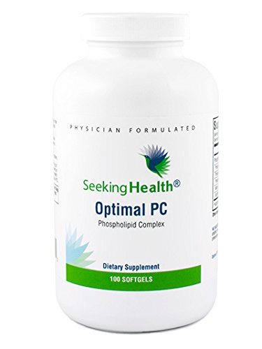 Optimal PC | 100 Softgels | Provides 800 mg of Blended Phospholipids (Phosphatidycholine, Phophatidylethalnolamine, and Phosphatidylinositol) | Non-Soy | Non-GMO | Free of Common Allergens | Seeking H