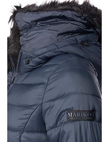 De Azul Colores xxl Abrigo Mujer Para 13 Rose Invierno Xs Marikoo 7UvBqB