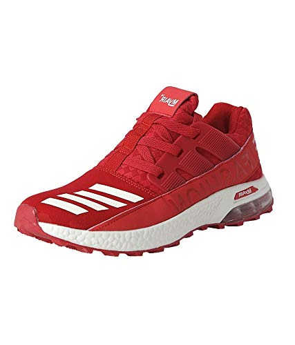 90173b76dba VIR SPORT Max Air Red Men s Running Shoes  Buy Online at Low Prices in  India - Amazon.in