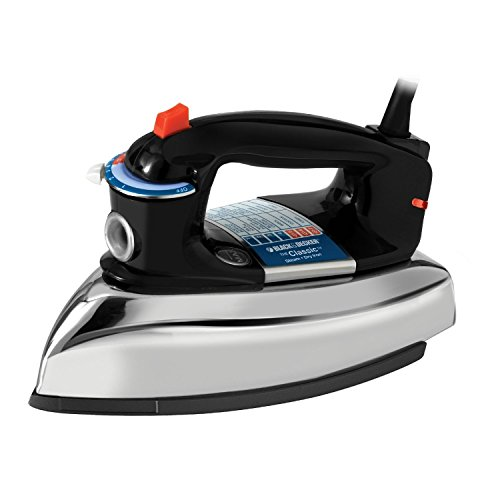 BLACK+DECKER Classic Steam Iron, - Outlets Rock Co Rock Castle Castle