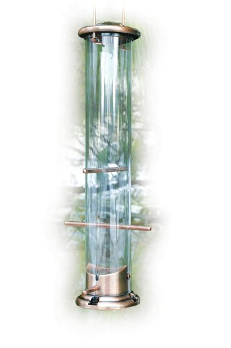 Woodlink Brushed Copper 6 Port Nyjer Finch Feeder