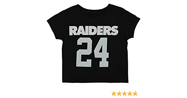 Amazon.com   Outerstuff NFL Toddler Oakland Raiders Marshawn Lynch  24  Mainliner SS Tee 33f9564f1