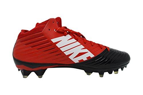 Nike Mens Ånga Hastighet Låg Td Gjutna Fotboll Knapar Röd / Svart