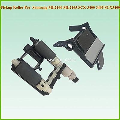 Printer Parts New Pickup Roller + Separate Pad for Samsung ML 2160 ML2161 ML2165 ML2160 SCX3401 SCX3400 SCX3405 3400 3405 Copier Part