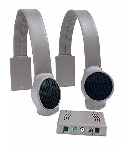 Audio Fox Wireless TV Speakers – Gray
