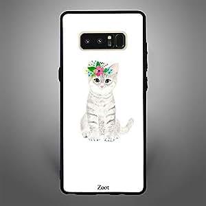 Samsung Galaxy Note 8 Cat Focussed
