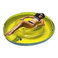 Swimline Island Sun Tan Tumbona para piscina de juguete