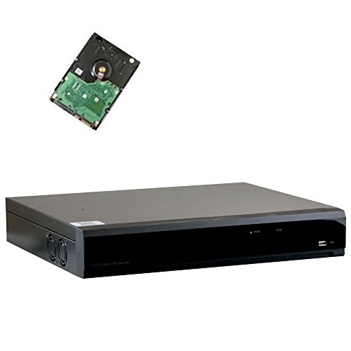 32 Channel Dvr (32 Channel Full 1080P Video Recording Security Standalone DVR with HDMI/VGA 1080P Video Output for HD-TVI/AHD/CVI/960H Surveillance Camera (Pre-installed 4TB HDD, 4x HDD bay, up to 32TB total))