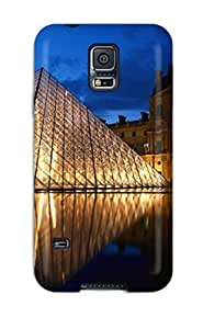 Fashion Protective City Of Paris Case Cover For Galaxy S5