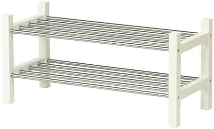 IKEA TJUSIG - Zapatero, blanco - 79 cm