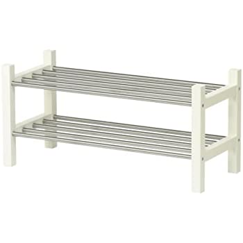 ikea tjusig shoe rack white - Shoe Rack Ikea