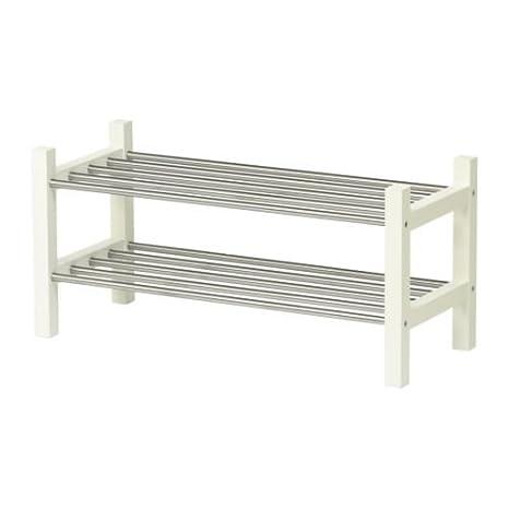 Ikea TJUSIG – Zapatero, Blanco – 79 cm