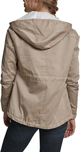 Sand Beige Parka Cotton para Classics 208 Ladies Mujer Basic Urban xH48qn