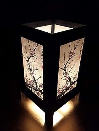 Asian Oriental Japanese Cherry Blossom Tree Art Bedside