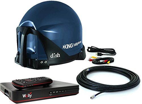 KING VQ4550 Tailgater Bundle - Portable Satellite TV Antenna and DISH Wally HD Receiver by KING (Image #2)