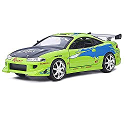 GYZS-TOY 1:24 Mitsubishi Solar Eclipse Alloy Car Model Large Simulation Static Collection Metal Car from GYZS-TOY