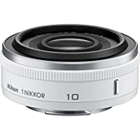 Nikon 1 NIKKOR 10mm f/2.8 (White)(Certified Refurbished)