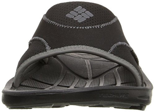 Techsun Vent Black Men's Sandal Columbia Charcoal Slide qEzfXxwX5