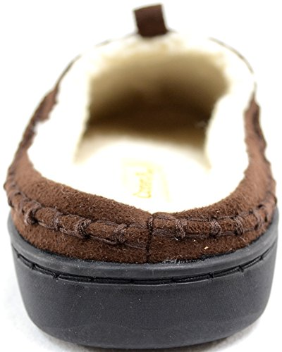 Ciabatte Da Uomo / Pantofole Morbide In Pile Da Uomo Con Interni In Calda Pelliccia Sintetica Marrone