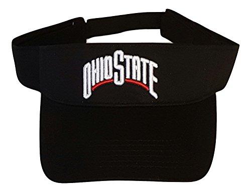 Ohio State Buckeyes Visor (Black)