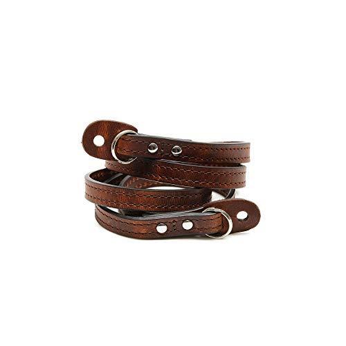 Ona Sevilla 40'' Camera Strap, Handcrafted Premium Leather, Root Beer Dark Brown