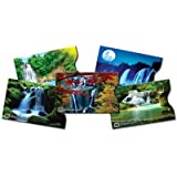 Identity Stronghold Designer Sleeves - Waterfall Collection - 5 Credit/Debit Card Sleeves